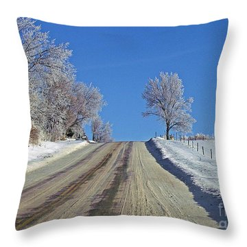 Throw Pillow featuring the photograph Upward by Christian Mattison