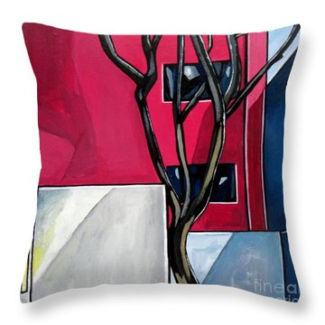 Urban 1 Throw Pillow by Sandra Marie Adams