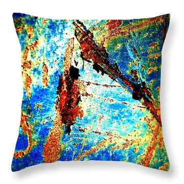 Urban Abstract Throw Pillow