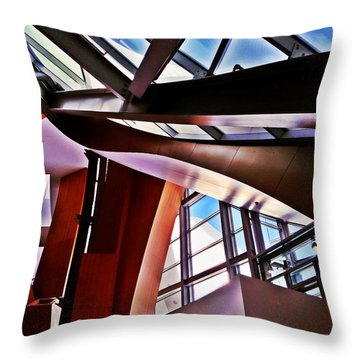 Urban Abstraction Throw Pillow