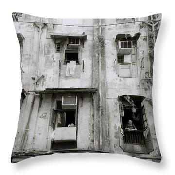 Urban Bombay Throw Pillow