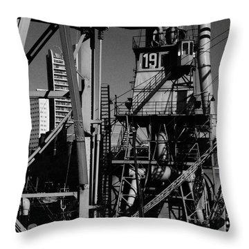 Throw Pillow featuring the photograph Urban Chaos by Maja Sokolowska