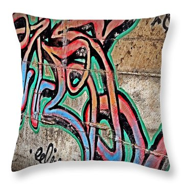 Throw Pillow featuring the photograph Urban Expression by Steven Milner