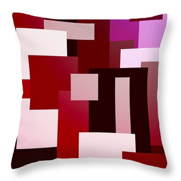 Urban Heat Throw Pillow