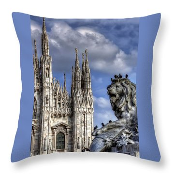 Urban Jungle Milan Throw Pillow by Carol Japp
