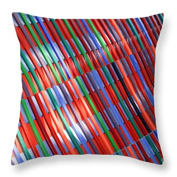 urban lines II Throw Pillow by Hannes Cmarits