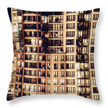 Urban Living Dclxxiv By Amyn Nasser Throw Pillow by Amyn Nasser