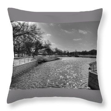 Urban Oasis Throw Pillow