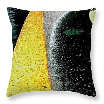 Urban Oasis Throw Pillow