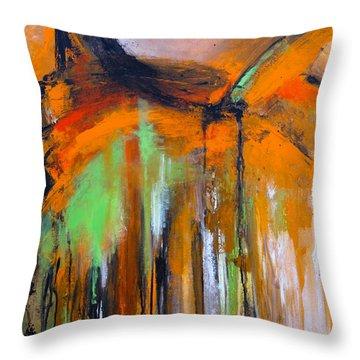 Urban Pulse Throw Pillow