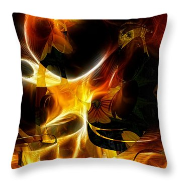 Urban Roots Throw Pillow