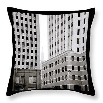 Urban San Francisco Throw Pillow by Shaun Higson