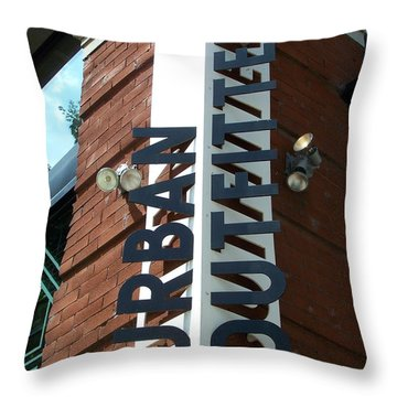 Urban Scenes Throw Pillow by Jake Hartz