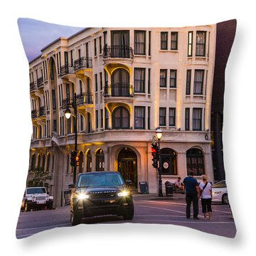 Urban Twilight Throw Pillow
