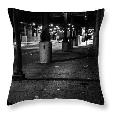 Urban Underground Throw Pillow