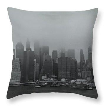 Urbanoia Throw Pillow