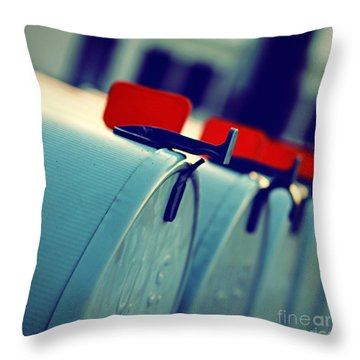 Urgent Throw Pillow by Trish Mistric