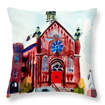 Ursuline II Sanctuary Throw Pillow