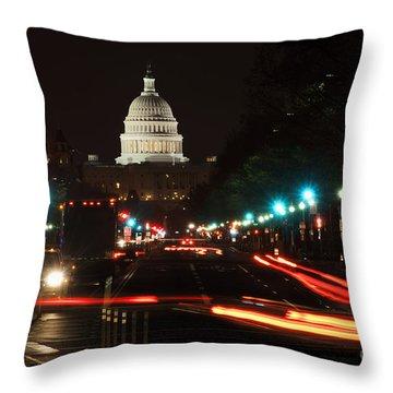 Washington Dc Throw Pillows