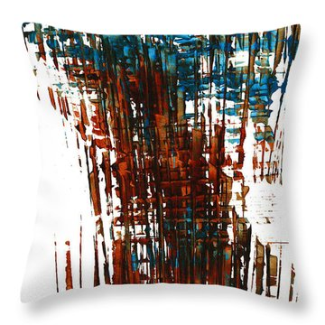 Us In The Divine 264.111011 Throw Pillow