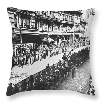 Vladivostok Throw Pillows