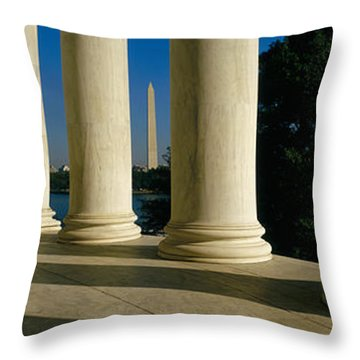 Usa, District Of Columbia, Jefferson Throw Pillow by Panoramic Images