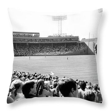 Usa, Massachusetts, Boston, Fenway Park Throw Pillow
