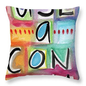 Use A Condom Throw Pillow