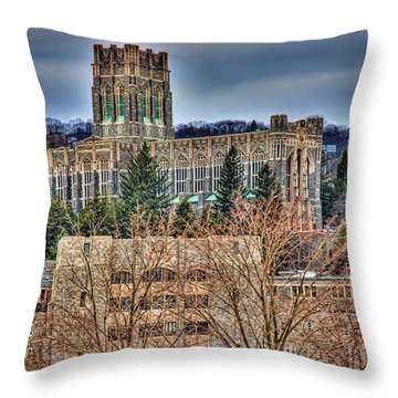 Usma Cadet Chapel Throw Pillow
