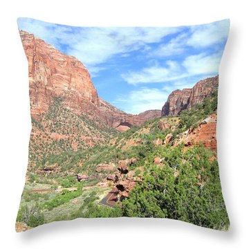 Throw Pillow featuring the photograph Utah 21 by Will Borden