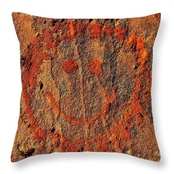 Utah Happiness Throw Pillow by Benjamin Yeager
