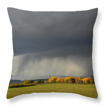 Utah Storm - 2 Throw Pillow