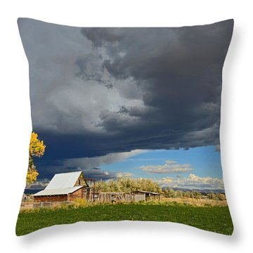 Utah Storm 2 Throw Pillow