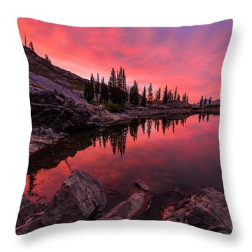 Utah's Cecret Throw Pillow