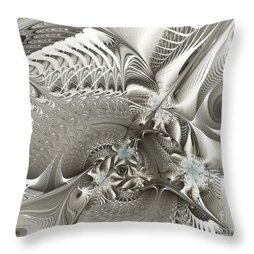 Utopia-fractal Art Throw Pillow