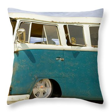 V W Lowrider At Gallop Throw Pillow