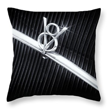 V8 Throw Pillow by Caitlyn  Grasso