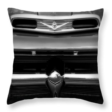 Throw Pillow featuring the photograph V8 Power by Steven Sparks