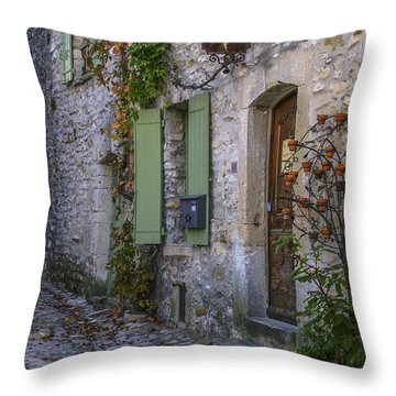 Vaison La Romaine Throw Pillow