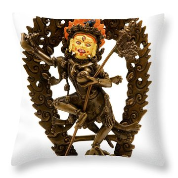 Vajrayogini Throw Pillow