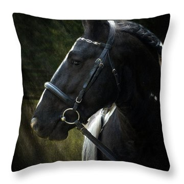 Val Headshot Throw Pillow