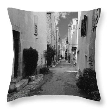 Valbonne - Provence-alpes-cote D'azur - France Throw Pillow by Christine Till