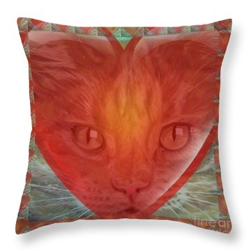 Valentine Gallery Number 3 Throw Pillow by PainterArtist FIN