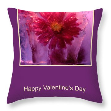 Throw Pillow featuring the photograph Valentine's Day by Randi Grace Nilsberg