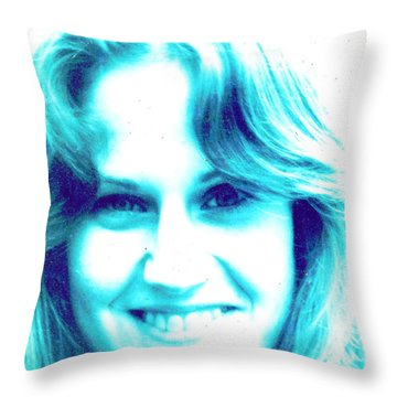 Valerie Throw Pillow by Jesse Ciazza