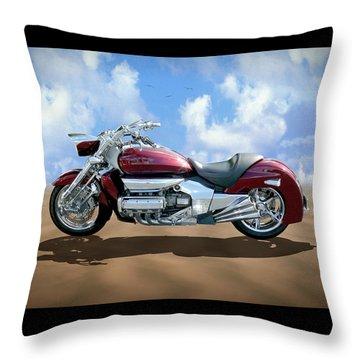 Valkyrie Rune Throw Pillow by Mike McGlothlen