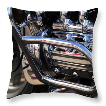 Valkyrie 1 Throw Pillow by Wendy Wilton