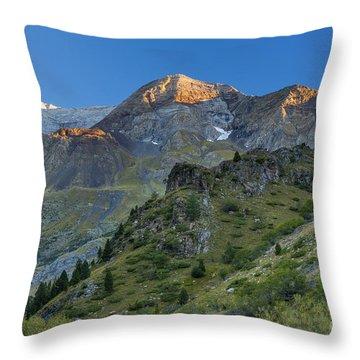 Valle Del Ara Throw Pillow