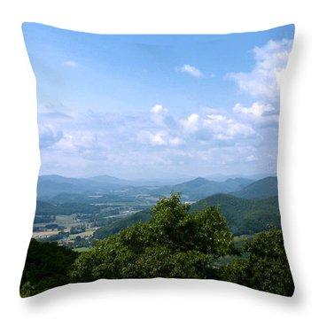 Valley View Throw Pillow by Annlynn Ward