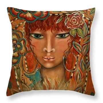 Valor Throw Pillow by Maya Telford